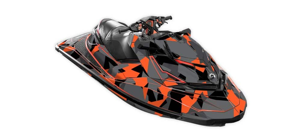 Poly Camo Sea Doo Rxp X 260 300 Rs Red
