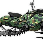 Just a Camo Skidoo 850 Rev4 Large