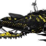 Grunger Ski-doo Summit Freeride 850 Rev4 Yellow Large