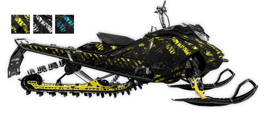Grunger Ski-doo Summit Freeride 850 Rev4 mixcolor Large