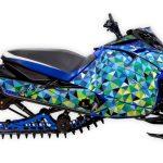 Triple Edge Yamaha Sidewinder Blue Large