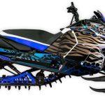 Untamed Yamaha Viper Blue Large
