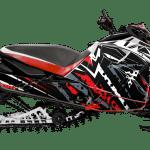 Yamaha Sidewinder Snowmobile Wrap graphics kit Sportster Red