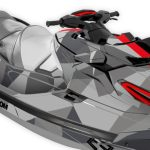 Two Face Sea-Doo RXT-X 300 / RXT 230 / GTX Limited / Wake Pro 230 2018 Gray