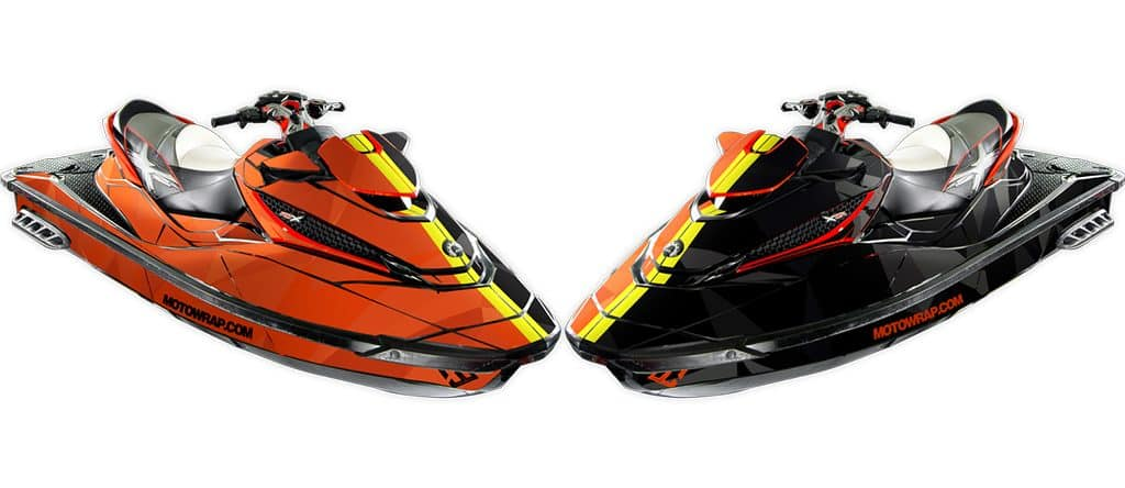 Two Face Sea Doo Rxt X 260 300 Rs Red Right Side