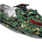 sea-doo rxt 300 wake pro gtx limited graphics kit just a camo