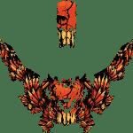 Lynx Boondocker Radien DS 4100 DS 3900 RE 3700 Rave Wrap graphics Phoenix Orange Overview