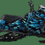 Lynx boondocker DS RE Xtrim Wrap graphics Phoenix Blue