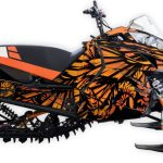 Phoenix Arctic Cat m6000 m8000 graphics kit orange