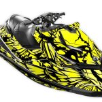 Phoenix Sea-doo rxp-x 300 260 rs graphics kit yellow