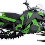 Polycamo Arctic Cat m6000 m8000 2012 2017 green