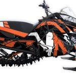 Free To Ride Arctic cat m6000 m8000 graphics kit Orange
