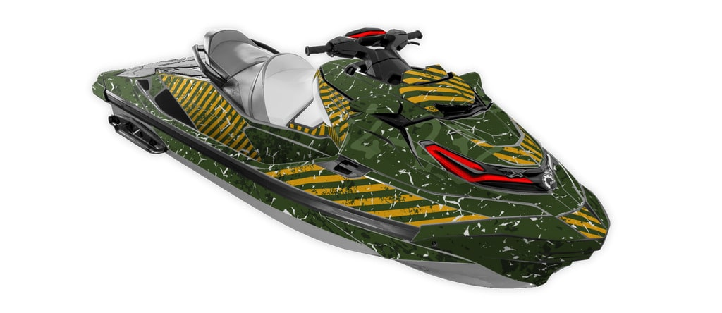 Sir! yes! sir! sea-doo rxt-300 rxt-230 wake pro gtx limited graphics kit