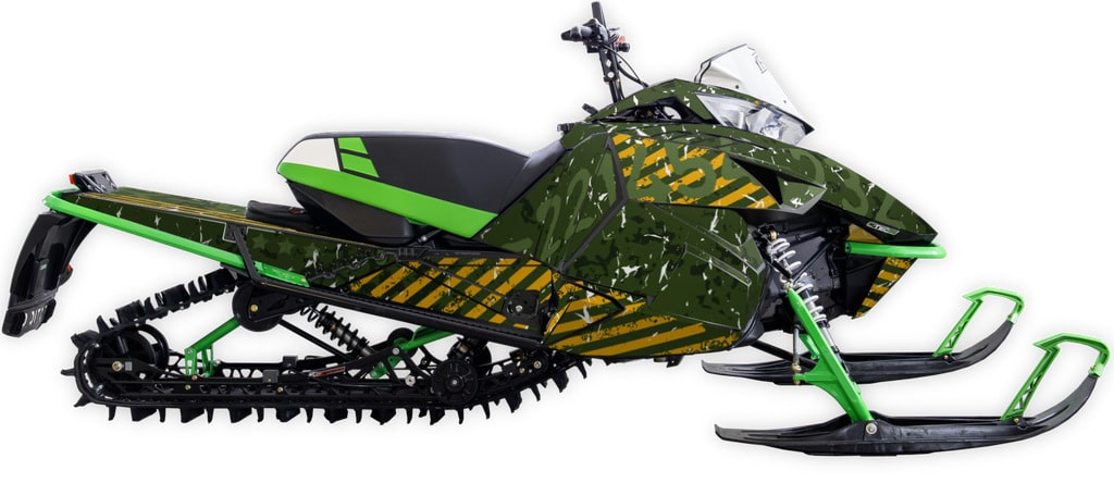 sir! yes! sir! Arctic cat m6000 m8000 graphics kit military