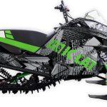 Ride or die Arctic Cat m6000 m8000 graphics kit green