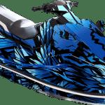 Yamaha EX EXR wrap graphics kit Phoenix Blue