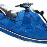 Yamaha EX Graphics kit Two face blue black