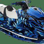 Yamaha GP 1800 wrap graphics kit Phoenix Blue