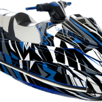 Yamaha GP 1800 wrap graphics kit Sportster Blue