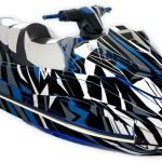 Yamaha GP1800 Graphics Kit Sportster Blue