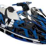 Yamaha GP1800 Graphics kit Free to ride Blue