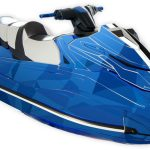 Yamaha GP1800 graphics kit Two Face Blue