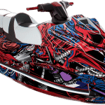 Yamaha GP 1800 wrap graphics kit Intruder Red