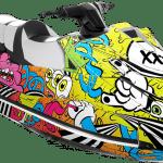 Yamaha GP 1800 wrap graphics kit Morphs